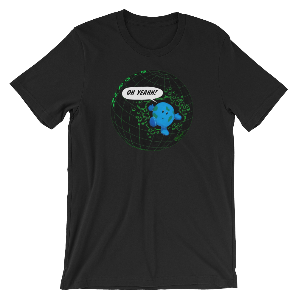 SpaceX DM-1 Zero-G Indicator Buddy T-Shirt