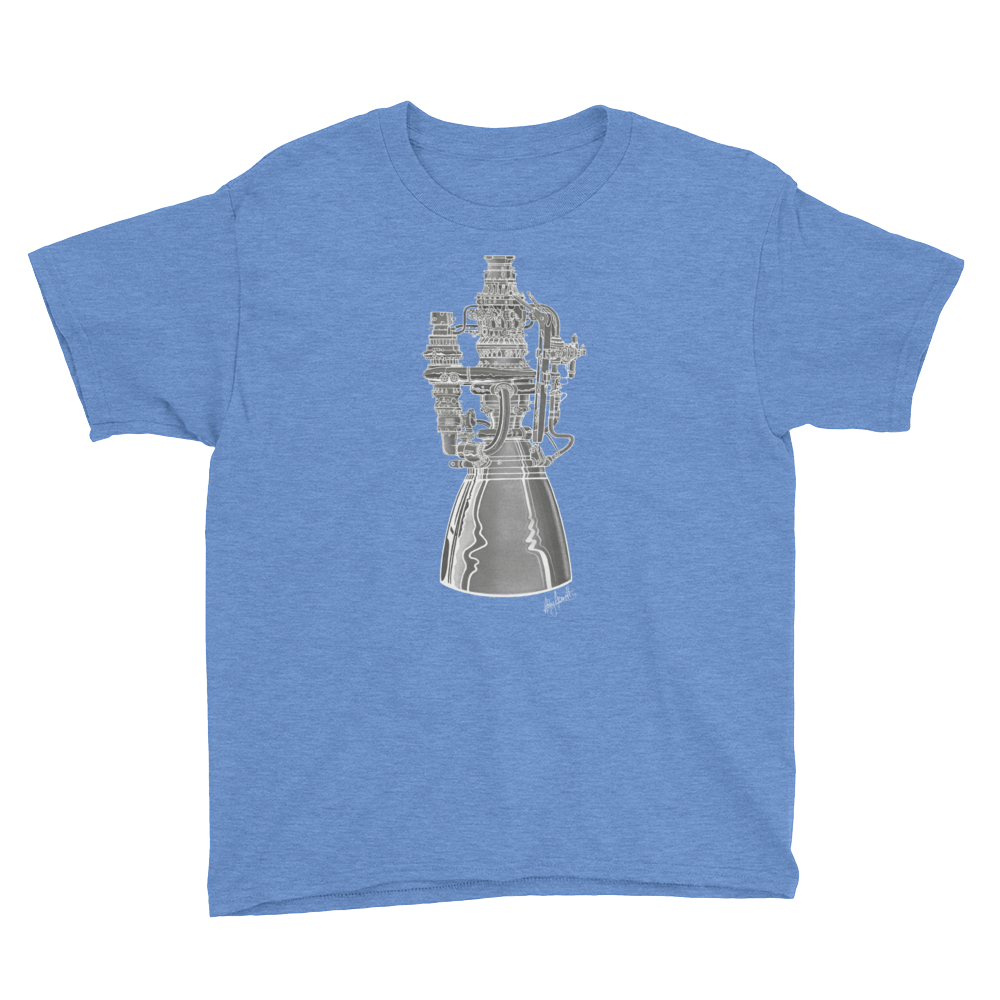 Raptor Engine T-Shirt (Youth/Kids)