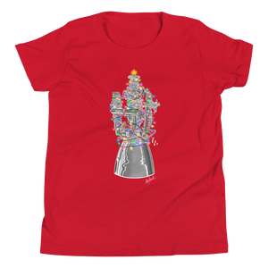 Holiday Raptor T-Shirt (Youth/Kids)