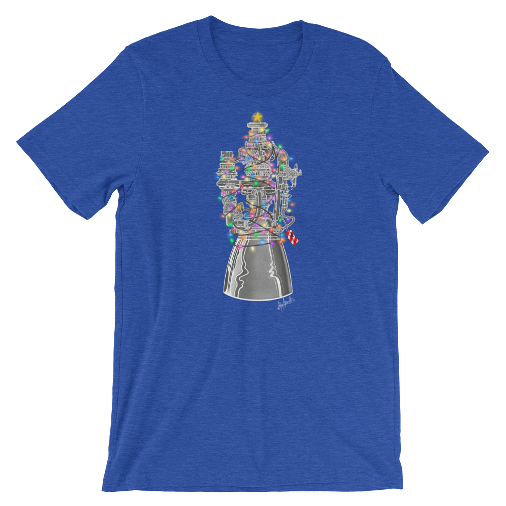 Holiday Raptor Engine T-Shirt (Adult)