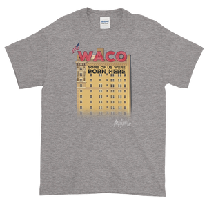 WACO: Some of Us Were Born Here Heavyweight Shirt (Adult)