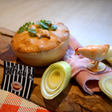 Chicken Ham Hock and Leek Pie