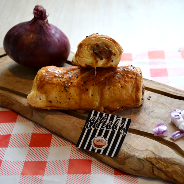 Caramelised Onion Sausage Roll