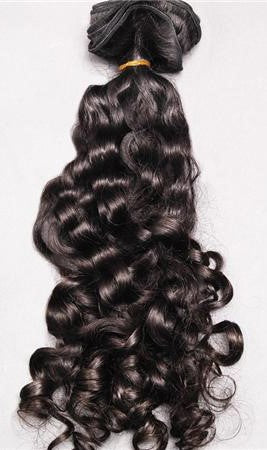 Flowing Curl Dark Brown Brazilian Remy Hair