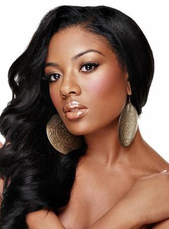 Body Wave Dark Brown Indian Remy Lace Wig