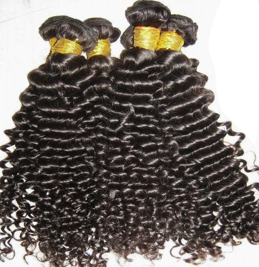 Deep Curl Dark Brown Brazilian Remy Hair