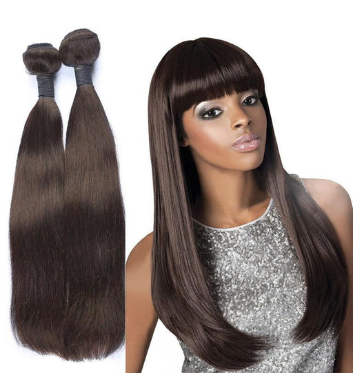 Straight Dark Brown Malaysian Hair