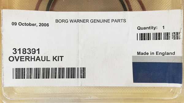 Mack 11.0L E6 EM6 MAN 11.97L D2866 3176 318391 NEW OEM BorgWarner S3A Repair Kit