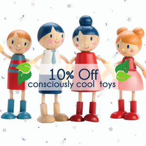 Consciously Cool Toys at Lou and Belle