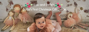 Lou and Belle - Baby's First Christmas Gift Guide