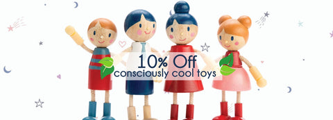 Consciously Cool Toy brands at Lou & Belle