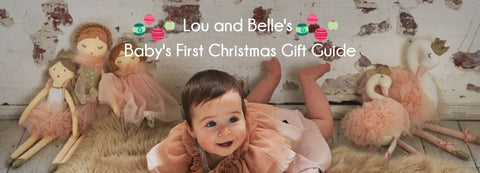 Baby's first Christmas Gift Guide Lou and Belle