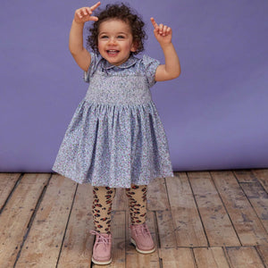Zoey - Vintage Style Hand-Smocked Dress