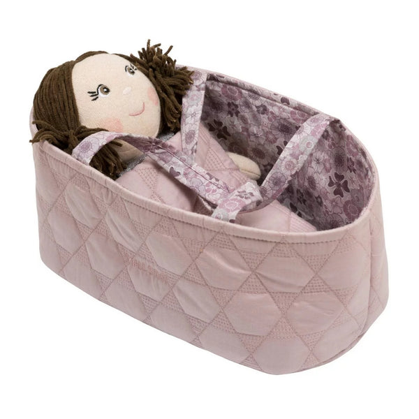 Doll Basket with Duvet & Pillow