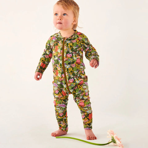 Native Organic Cotton Zipsuit