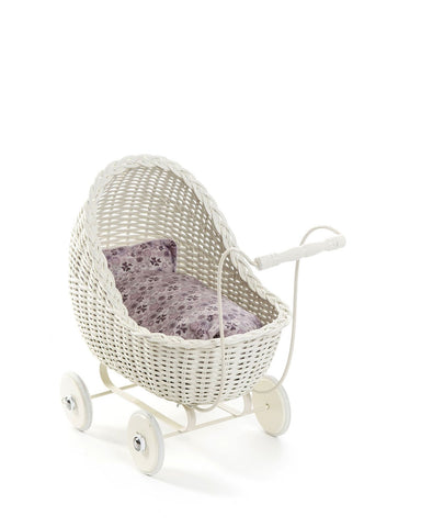 Dolls Buggy - White