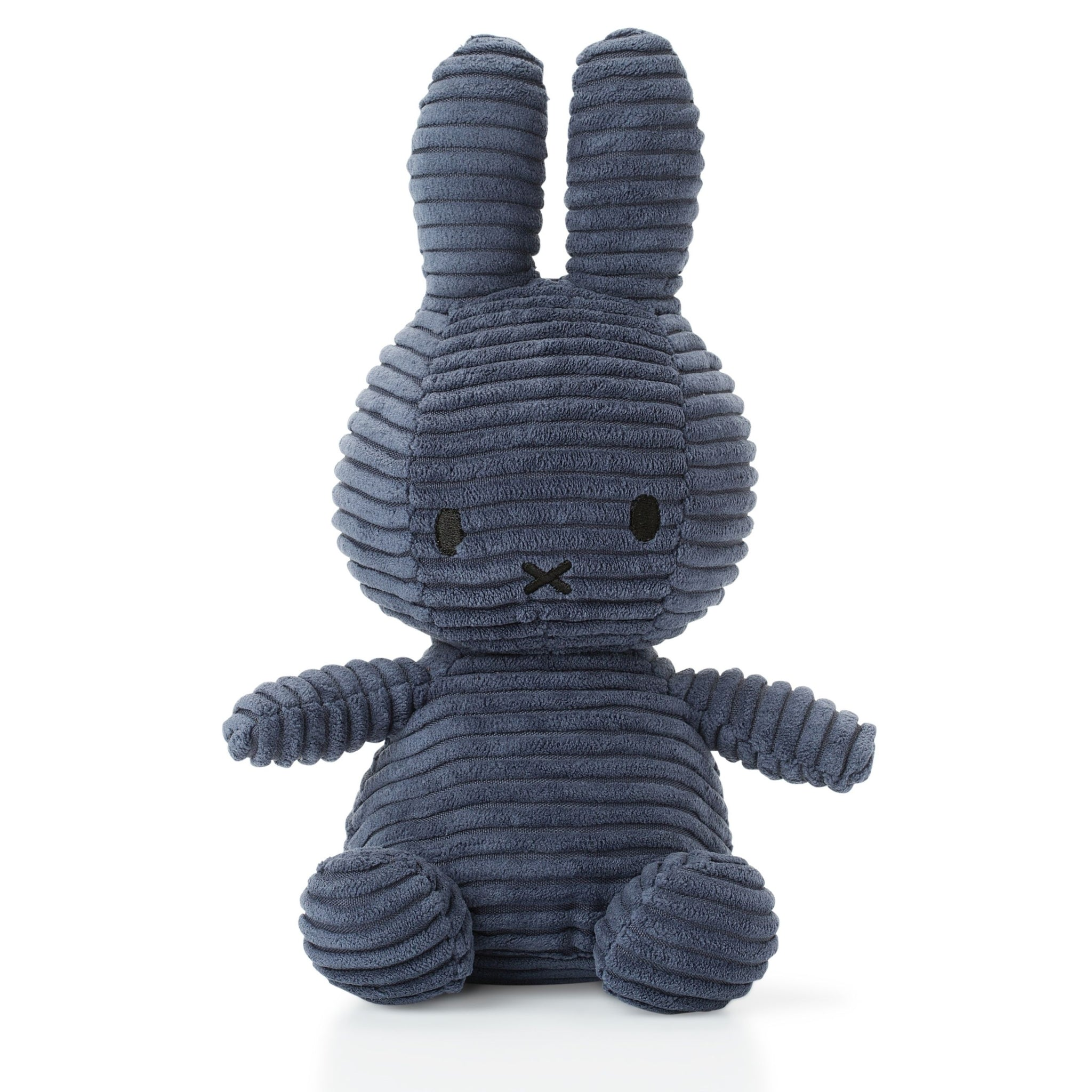 Miffy Corduroy soft toy - Dark Blue