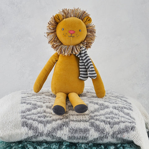 Leo the Lion Velvet Toy - Albetta