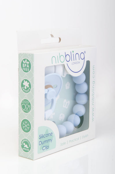 Pluto Soother Clip - Blue