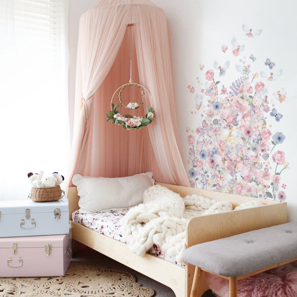 Fairy Garden Wall Sticker - pre order for delivery end Feb