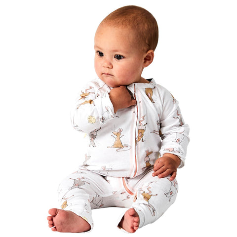 Mousing Around Organic Cotton Zipsuit