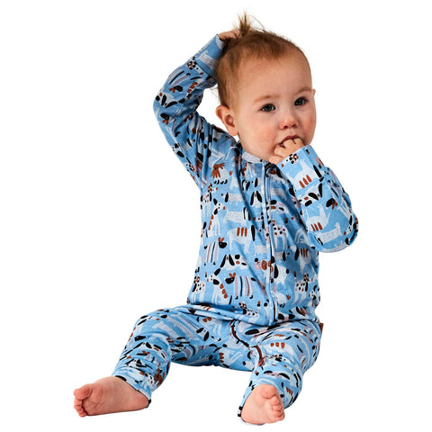 Sir Fred Organic Cotton Zipsuit