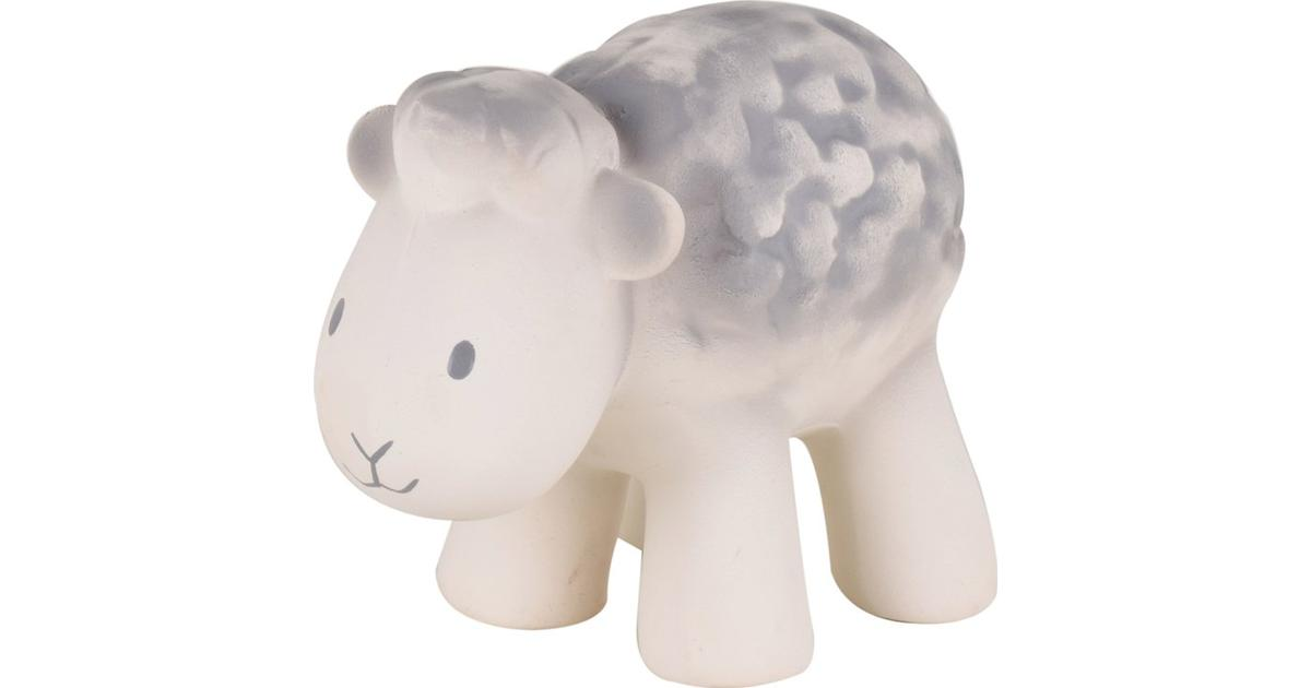 Sheep - Natural Rubber Baby Rattle & Bath Toy