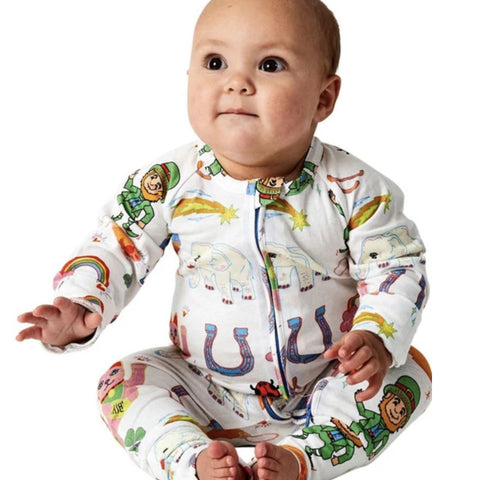 Lucky Organic Cotton Zipsuit