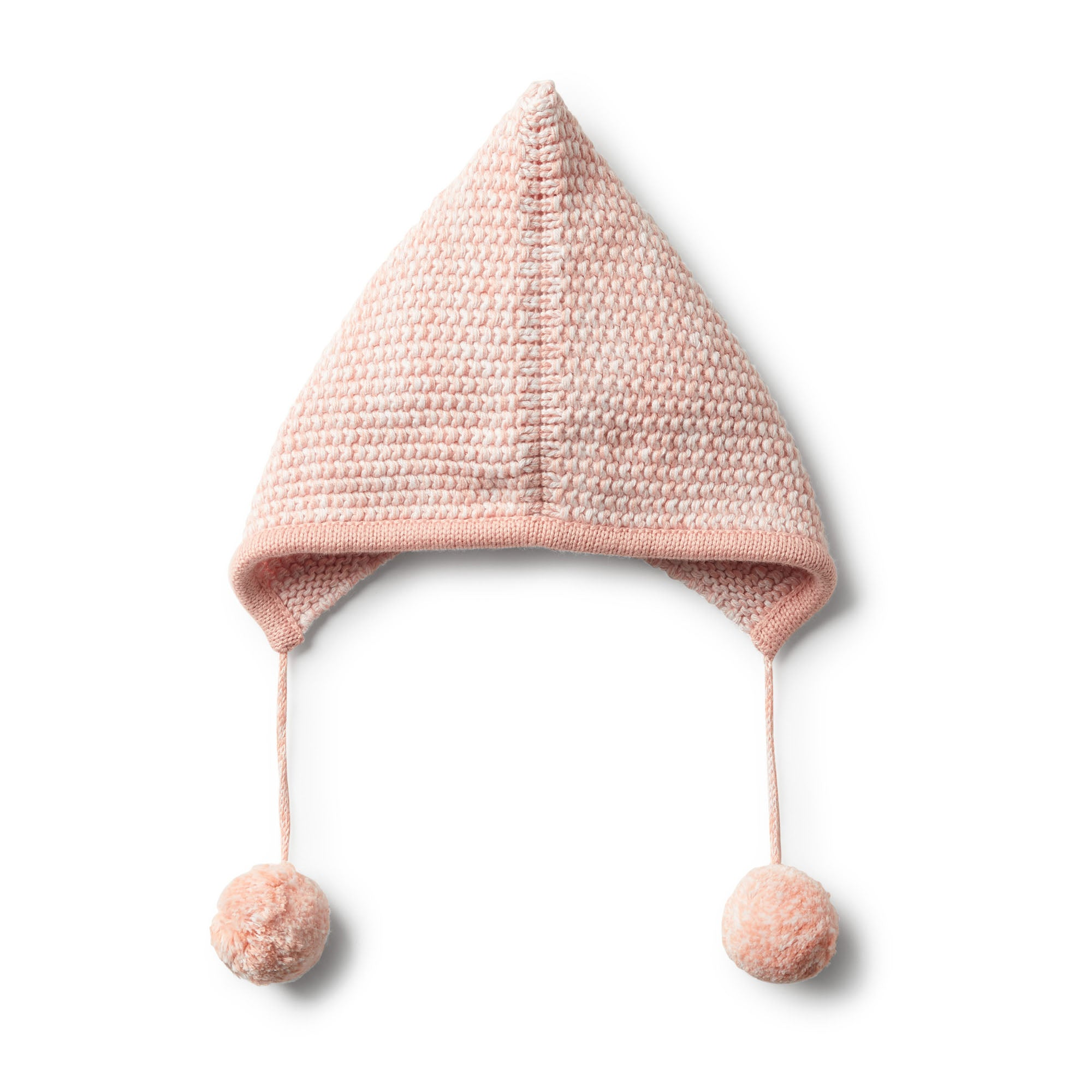 Strawberry & Cream knitted bonnet