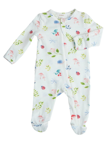 Natures Notebook Organic Cotton Zipsuit