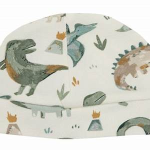 Crayon Dinosaurs Baby Beanie hat