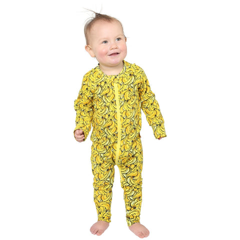 Bananas Organic Cotton Zipsuit