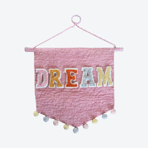 DREAM wall hanging