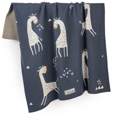 Giraffe Organic Cotton Blanket