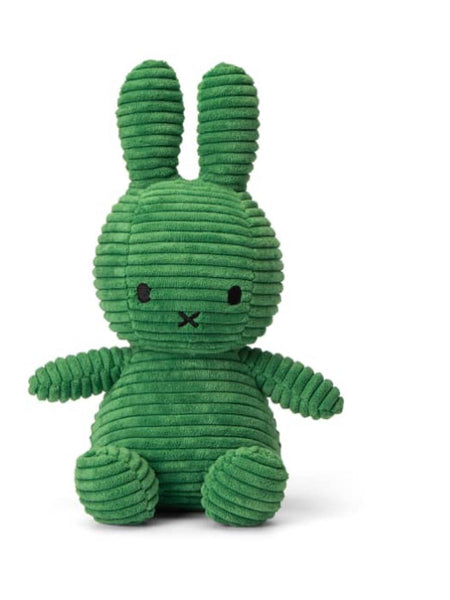 Miffy Corduroy soft toy - Forest Green