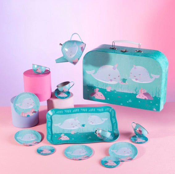 Alma Narwhal Play Tea Set