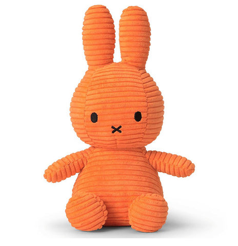 Miffy Corduroy soft toy - Orange