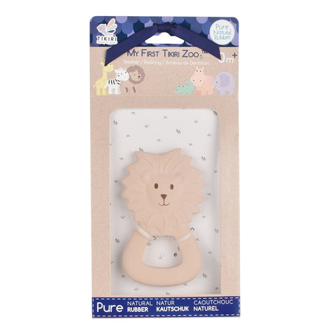 Natural Rubber My First LionTeether