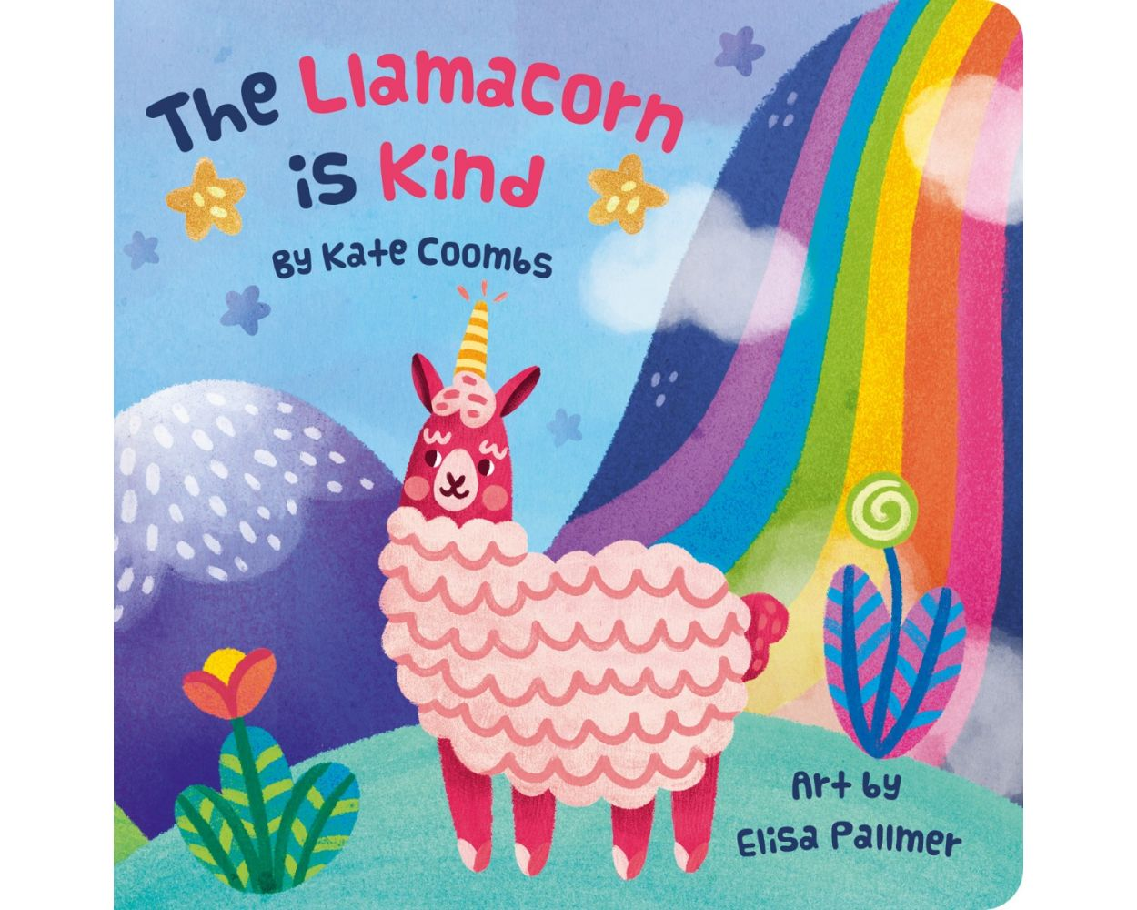 Llamacorn is Kind baby board book