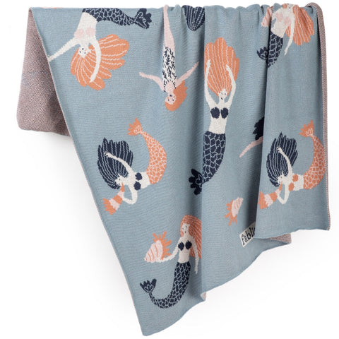 Mermaid Organic Cotton Blanket