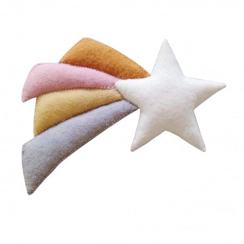 Pastel Shooting Star wall decoration