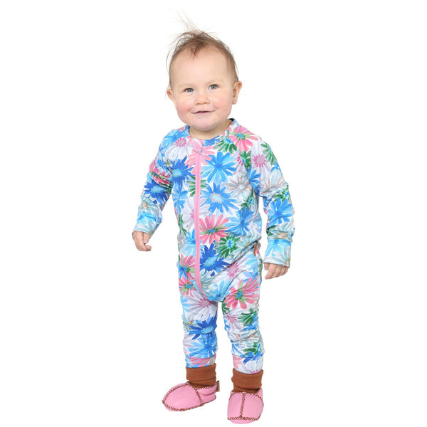 Petal Power Organic Cotton Zipsuit