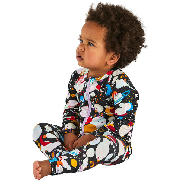 Planet Organic Cotton zipsuit
