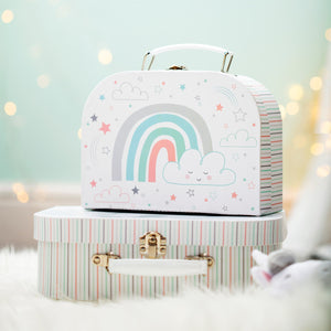 Baby Unicorn & Rainbow Suitcases