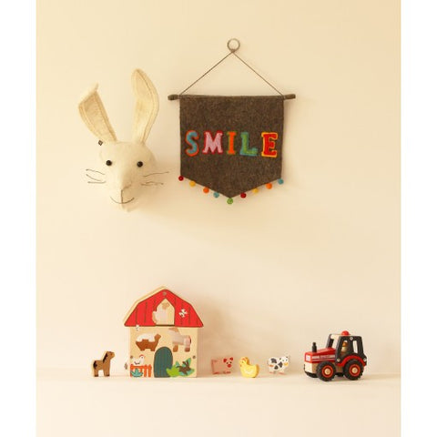 SMILE wall hanging