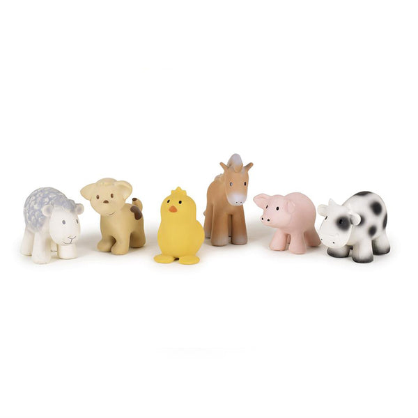 Pig - Natural Rubber Baby Rattle & Bath Toy