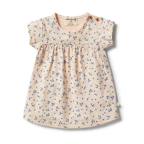 Hugs & Kisses Smock Dress