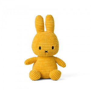 Miffy Corduroy soft toy - Yellow
