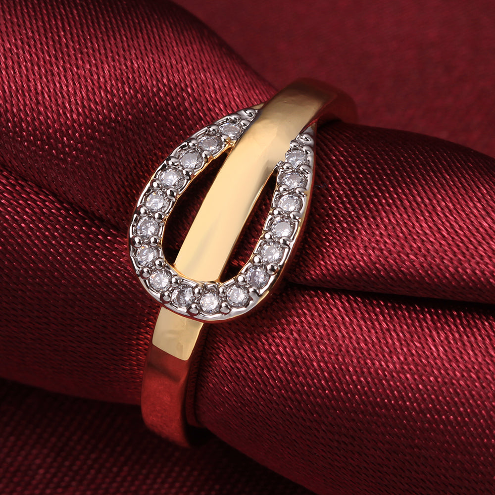 18KGP stamped Gold Plated beautiful Ring.