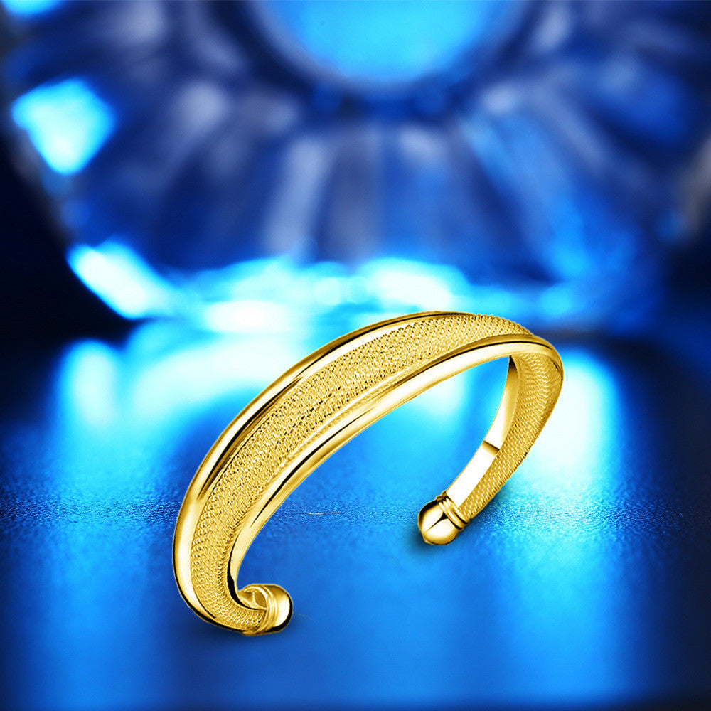 New Fashion,  Gold &Silver Plated Bangle